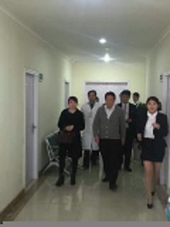 原卫生部部长殷大奎莅临我院视察医生会诊开展工作